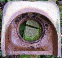 Ceramic drain cover
