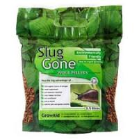 Organic slug control pellets