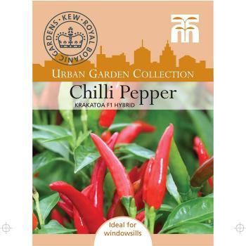 Chilli Pepper Krakatoa seeds F1 hybrid | 6 seeds per packet